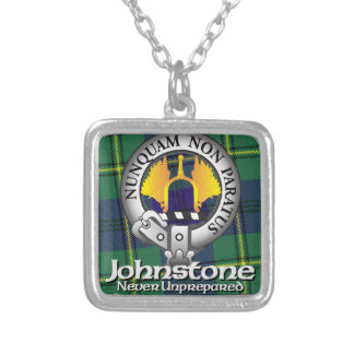 Johnston Johnstone Clan Silver Plated Necklace