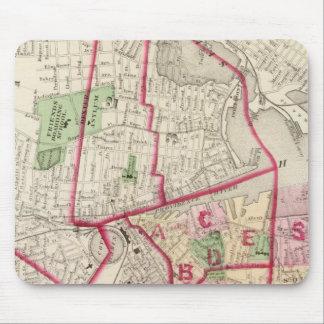 Johnston Rhode Island Map Mouse Pad