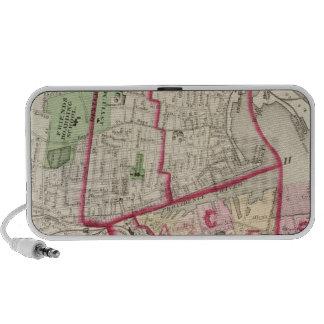 Johnston Rhode Island Map Portable Speaker