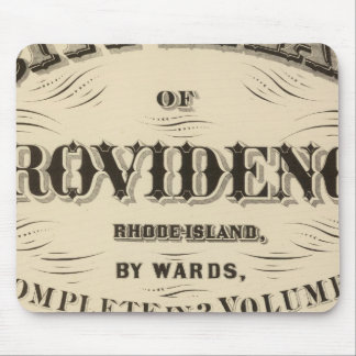 Johnston Rhode Island Very early Hopkins city Mouse Pad