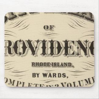 Johnston Rhode Island Very early Hopkins city Mouse Pad