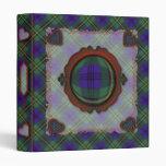 Johnston Scottish clan tartan Binder