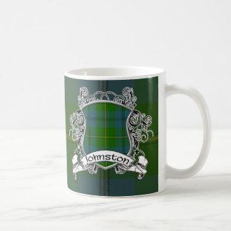 Johnston Tartan Shield Mug