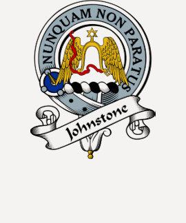 Johnstone Clan Badge T Shirt