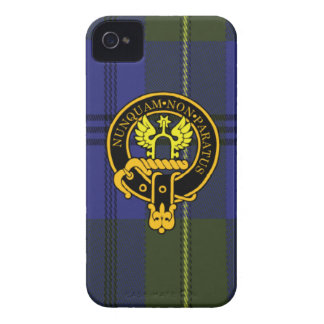 Johnstone Scottish Crest and Tartan iPhone 4 case