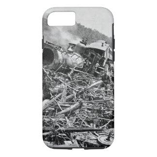 Johnstown Flood Train Wreck Vintage 1889 iPhone 8/7 Case