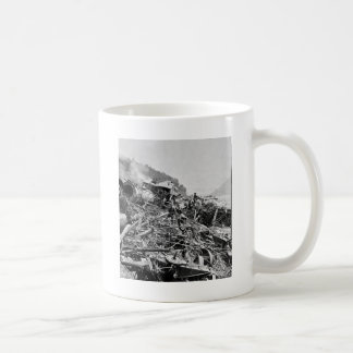 Johnstown Flood Train Wreck Vintage 1889 Classic White Coffee Mug