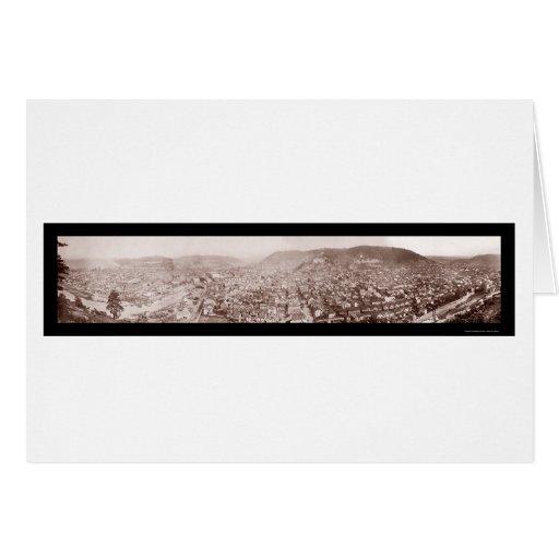 Johnstown, PA Photo 1904 Greeting Card