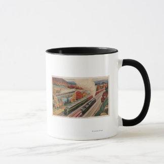 Johnstown, Pennsylvania (Commerce Trains) Mug