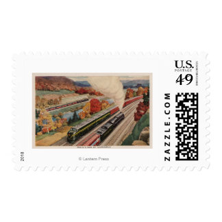 Johnstown, Pennsylvania (Commerce Trains) Postage