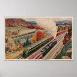 Johnstown, Pennsylvania (Commerce Trains) Poster