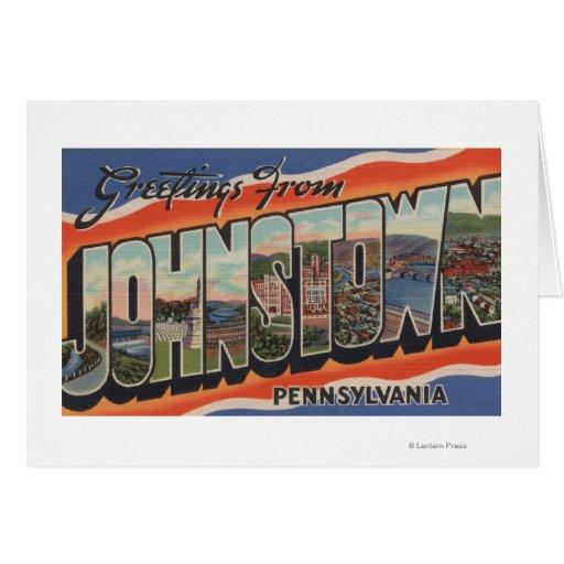 Johnstown, Pennsylvania - escenas grandes 2 de la  Tarjetas