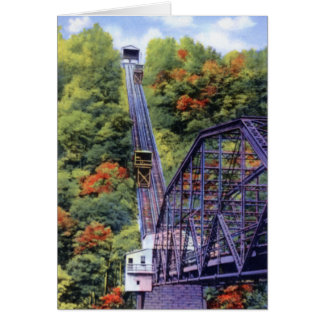 Johnstown Pennsylvania Incline Card