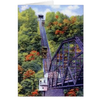 Johnstown Pennsylvania Incline Card