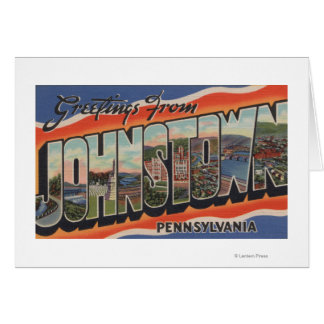 Johnstown, Pennsylvania - Large Letter Scenes 2 Card