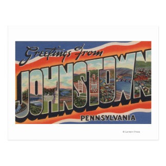 Johnstown, Pennsylvania - Large Letter Scenes 2 Postcard