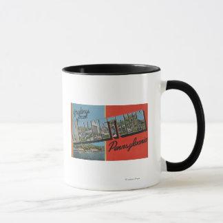 Johnstown, Pennsylvania - Large Letter Scenes Mug