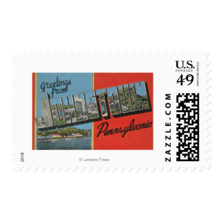 Johnstown, Pennsylvania - Large Letter Scenes Postage