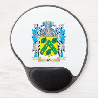 Joi Coat of Arms - Family Crest Gel Mouse Pad