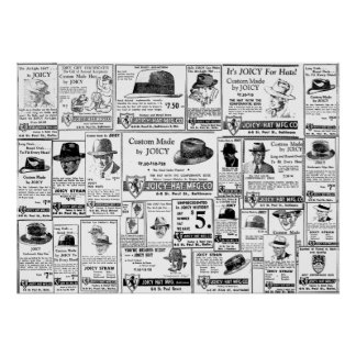 Joicy (Gioioso) Hat Company Impresiones