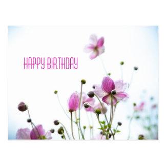 Joie de Vivre • Birthday Postcard