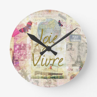 Joie De Vivre Reloj Redondo Mediano