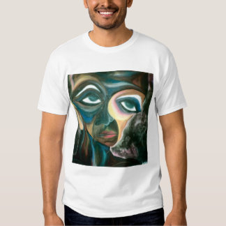 joil painting on shirt