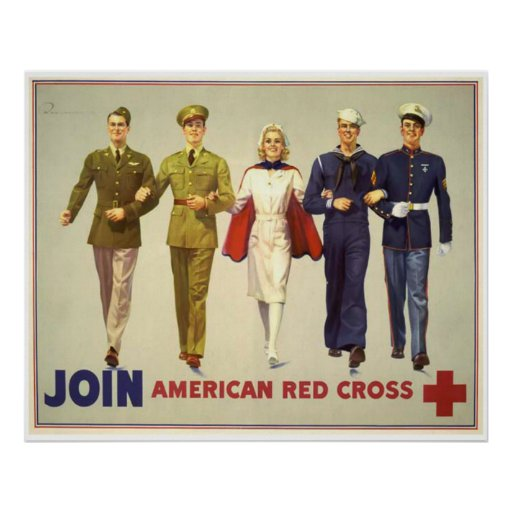 Join - American Red Cross Print