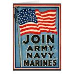 Join Army, Navy, Marines WPA 1917
