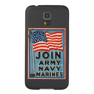Join Army, Navy, Marines WPA 1917 Galaxy S5 Cover