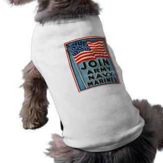 Join Army, Navy, Marines WPA 1917 Shirt