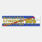 Join BDS movement boycott Israel Bumper Sticker