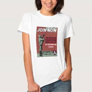 Join Civilian Defense -- WPA T Shirt