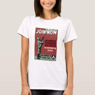 Join Civilian Defense -- WPA T-Shirt