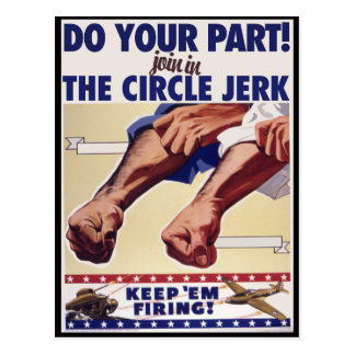 Join in the Internet Circle Jerk Postcard