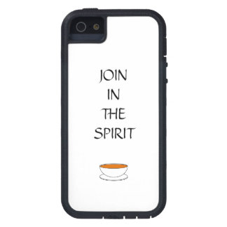 Join in the spirit, with cup of tea iPhone SE/5/5s case