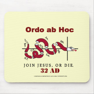 Join Jesus Mouse Pad