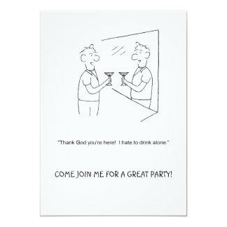 Join Me Cartoon Party Invitation