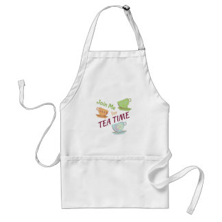 Join Me For Tea Adult Apron