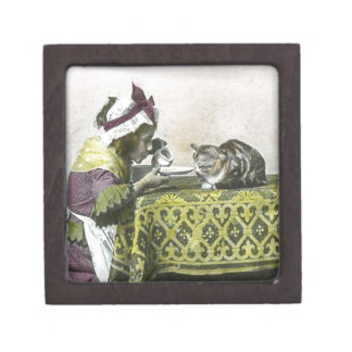 Join me for Tea Kitty Vintage Victorian Tea Party Gift Box