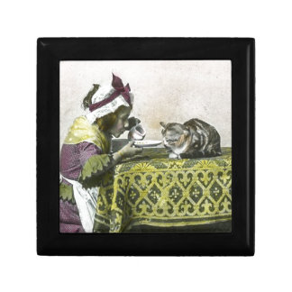 Join me for Tea Kitty Vintage Victorian Tea Party Jewelry Box
