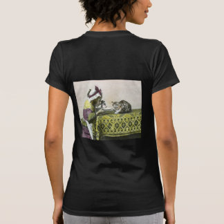 Join me for Tea Kitty Vintage Victorian Tea Party Shirt