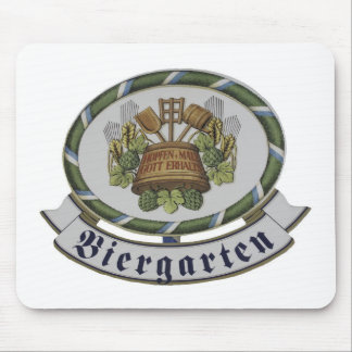 Join me in the biergarten! mouse pad