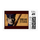 Join Me Land Sea US Marines Postage Stamp
