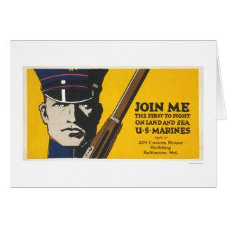 Join me - U.S. Marines Card