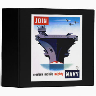 Join Modern Mobile Mighty Navy – Join the Navy Binder