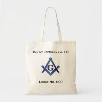Join My Brethren At - Freemason Tote Bag