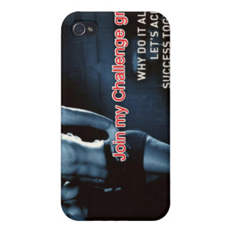 Join my Challenge Group iPhone 4 Case