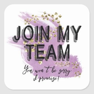 Join My Team Stickers