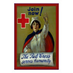 Join Now!~Vintage Nurse Poster